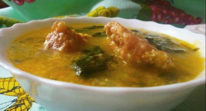 Супы из копченых ребрышек с пошагово