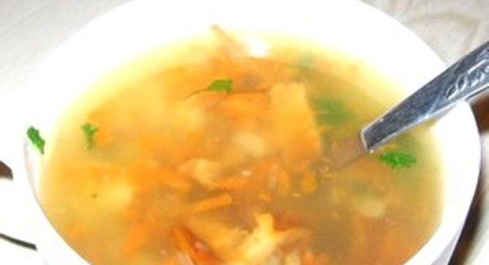 Суп с лисичками рецепт с фото пошагово