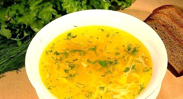 суп с вермишелью рецепт с фото пошагово