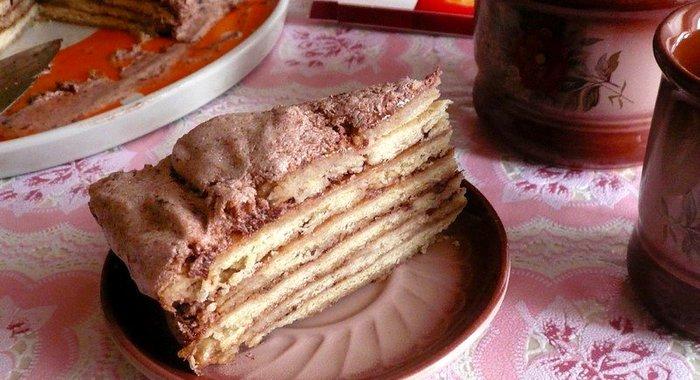 кремовый пирог рецепт с фото пошагово