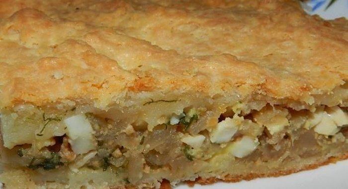 Пирог с капустой в духовке пошаговый рецепт с фото