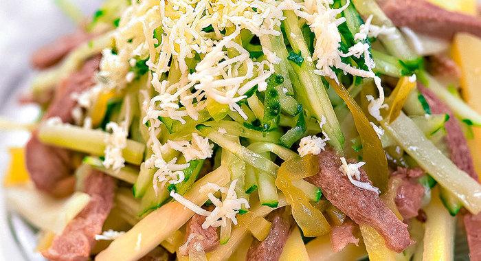 Салаты из языка говяжьего рецепт с пошагово