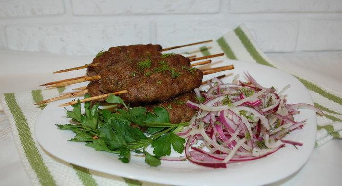 Люлякебаб подомашнему рецепт с фото готовим дома