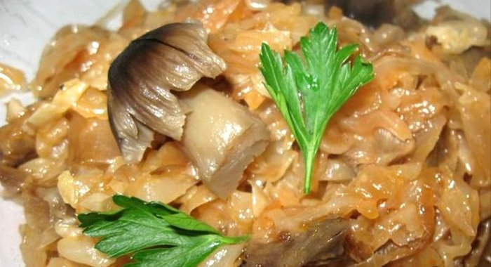 Рецепт тушеной капусты с пошаговым