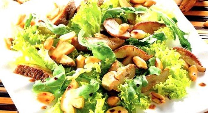 Рецепты салатов с белыми грибами