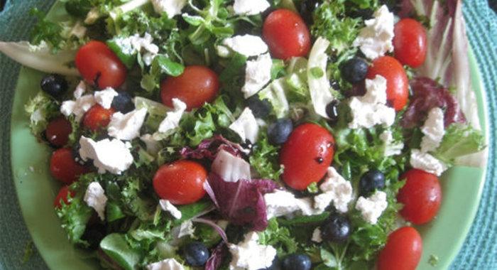 Салат легкий пошаговый рецепт с фото