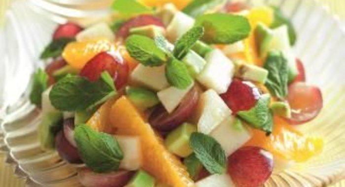 Рецепты диетических фруктовых салатов с фото