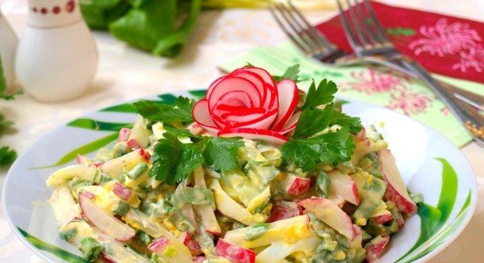 Рецепты салатов с яйцами простые и вкусные