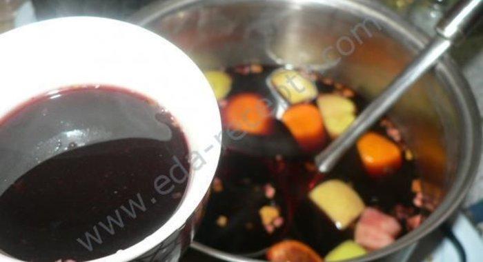 Рецепт глинтвейна в домашних условиях пошагово простые