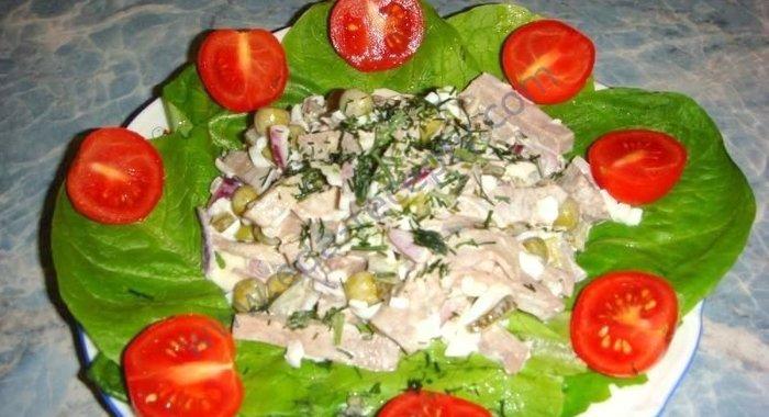 Рецепты салатов с фотографиями из языка