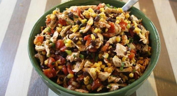 Рецепты пошаговые с салат с фасолью