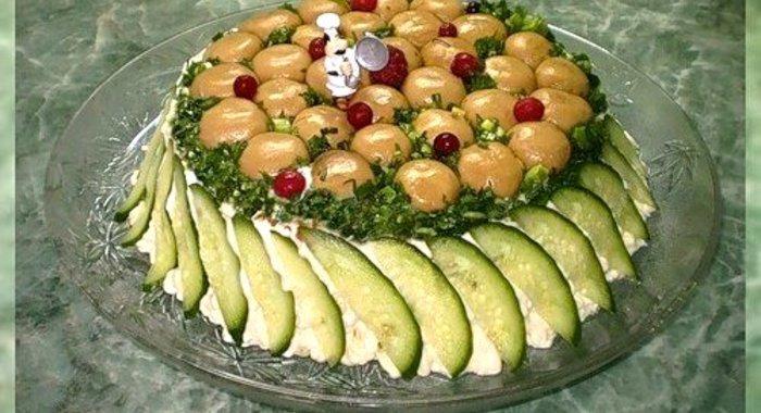 Грибные салаты рецепт и фото