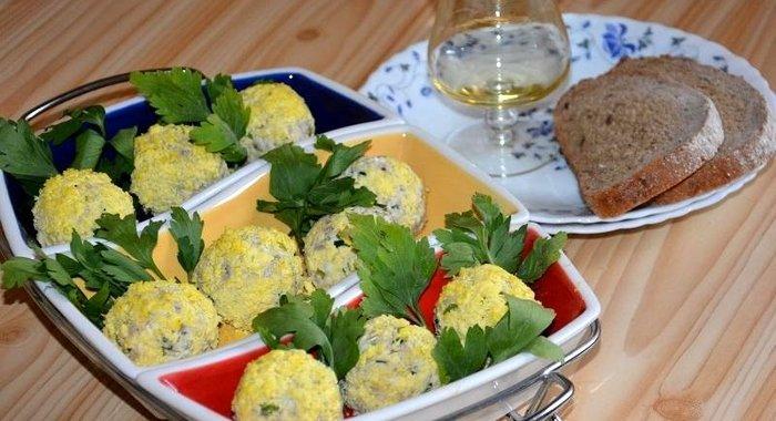 Закусочные шарики рецепты пошагово