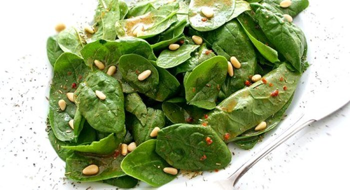 Шпинат салаты рецепт
