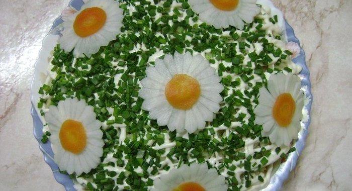 Рецепты салатов на день рождения ребенка простые
