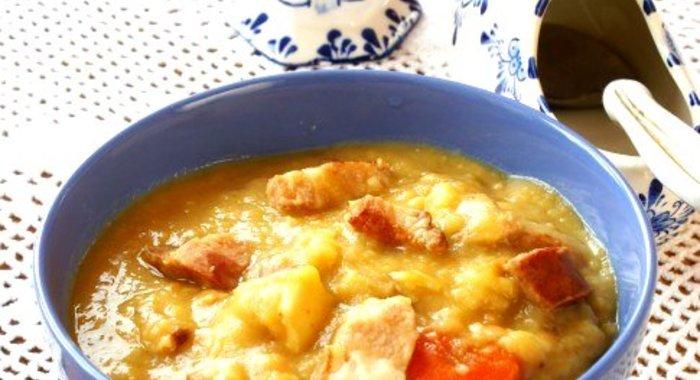 Суп гороховый с пошаговый рецепт с фото