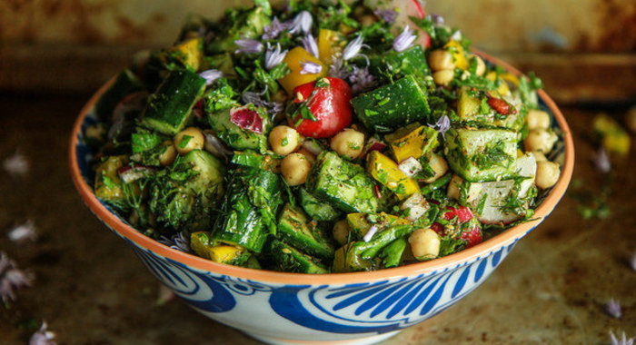 Восточная кухня салаты рецепты