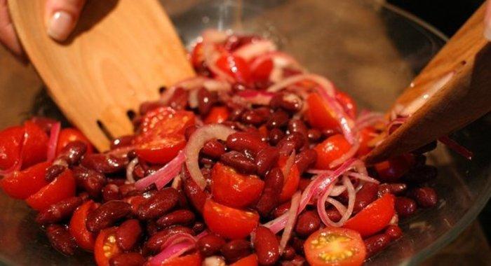Красная фасоль с фото пошагово в