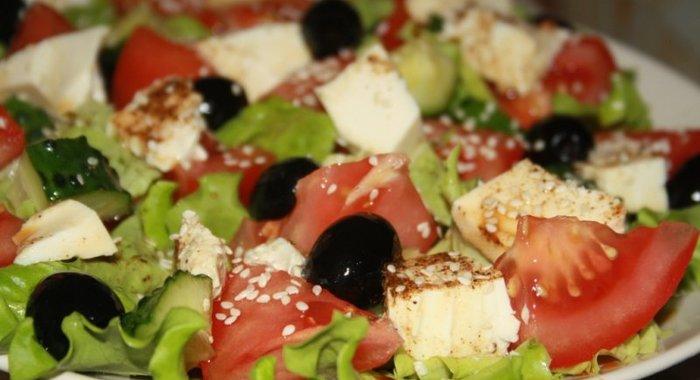 Вкусные и лёгкие салаты с фото