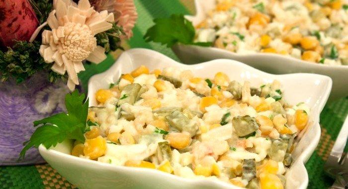 Мясо криля салат рецепт