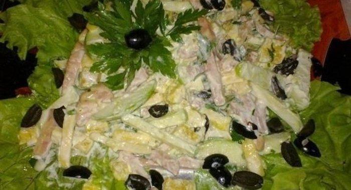 Самые вкусные салаты рецепты на скорую руку с