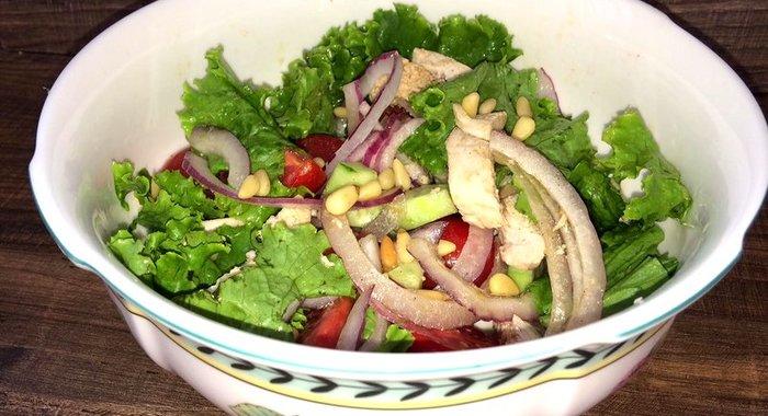 Салат из куриной грудки рецепт с очень