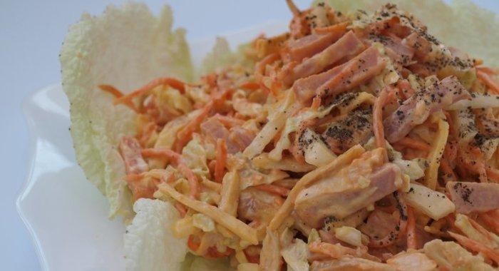 салат капуста морковь по-корейски курица