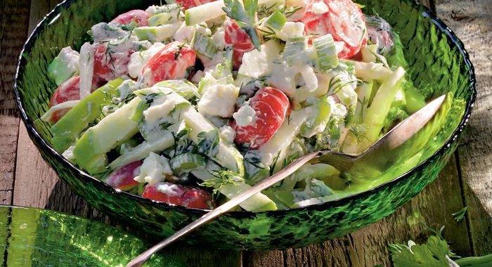 Легкий летний салат рецепты с простые и вкусные рецепты