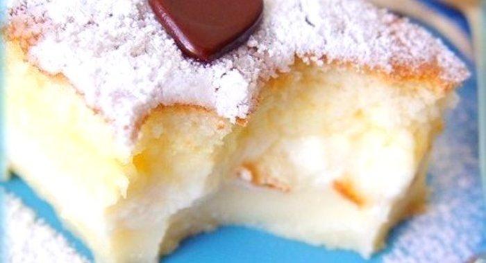 Рецепт пирожного с кремом с пошагово