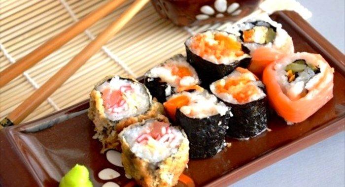 Рецепты горячие суши в домашних условиях с фото пошагово
