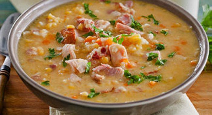 Гороховый суп с копченостями в мультиварке рецепт с фото пошагово