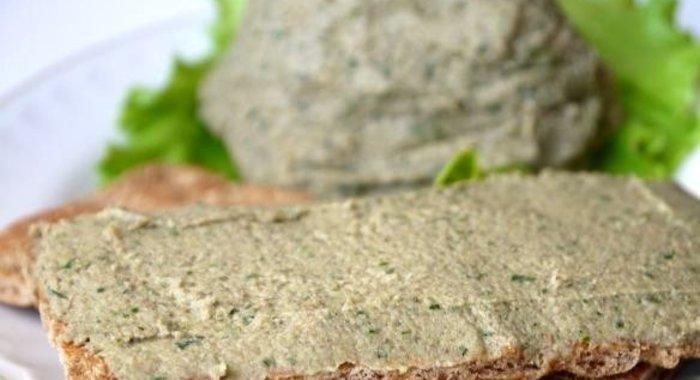 паштет из шампиньонов рецепты с фото