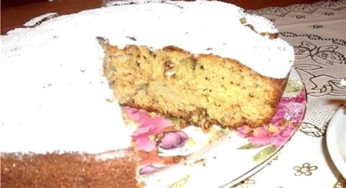 Кекс с яблоками рецепт с пошагово простой рецепт