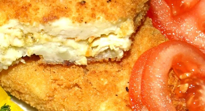 Картофельные зразы с рыбой рецепт с фото