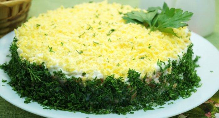 Салат мимоза рецепт классический рецепт пошаговый рецепт