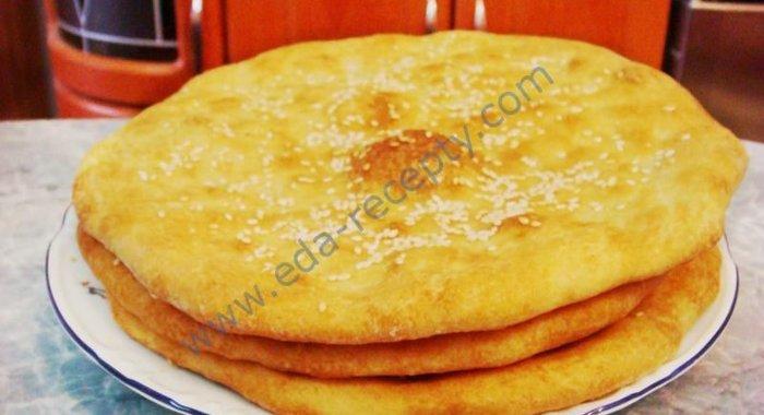 Лепёшки на дрожжах рецепт пошагово