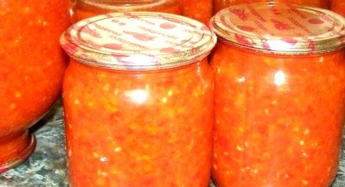 Аджика из помидор пошаговый рецепт с фото