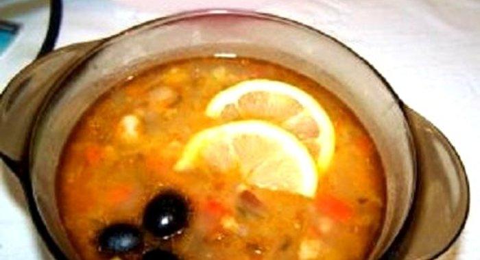 Рецепт солянки в домашних условиях с капустой