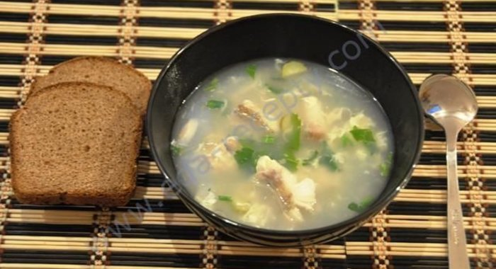Рецепт супа из морской рыбы