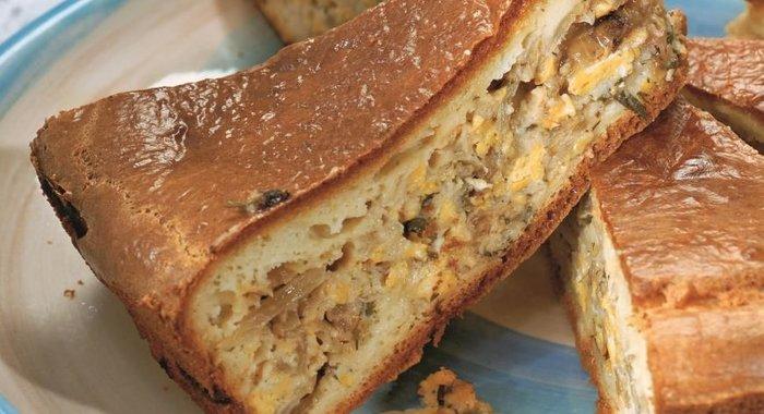 Капустный пирог открытый рецепт пошагово