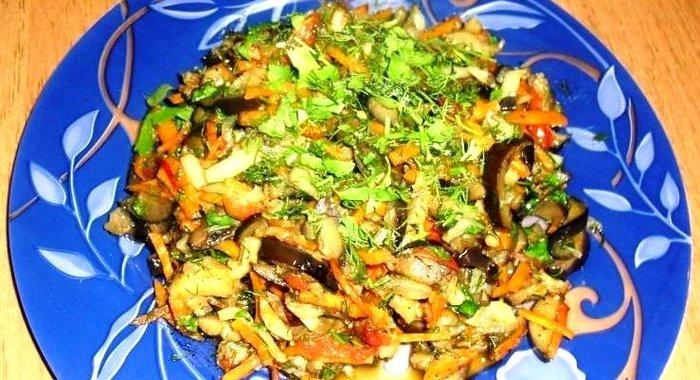 Тушеные баклажаны рецепт пошаговый с фото