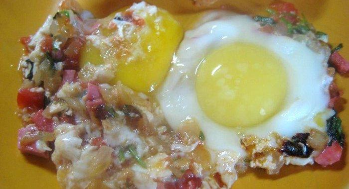 Яичница пошаговый рецепт с фото
