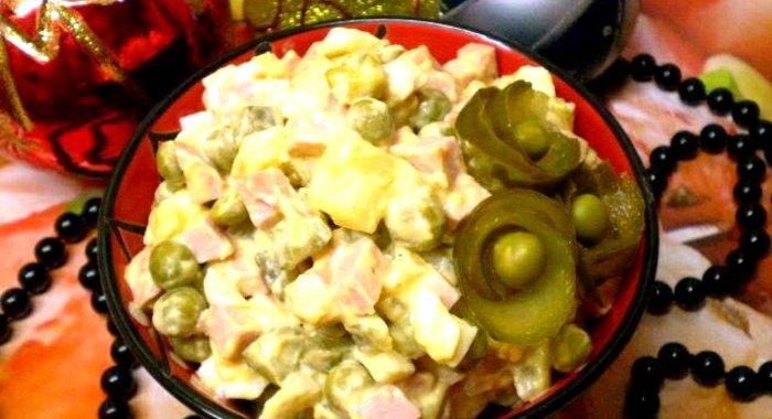 Рецепты оливье с фото пошагово
