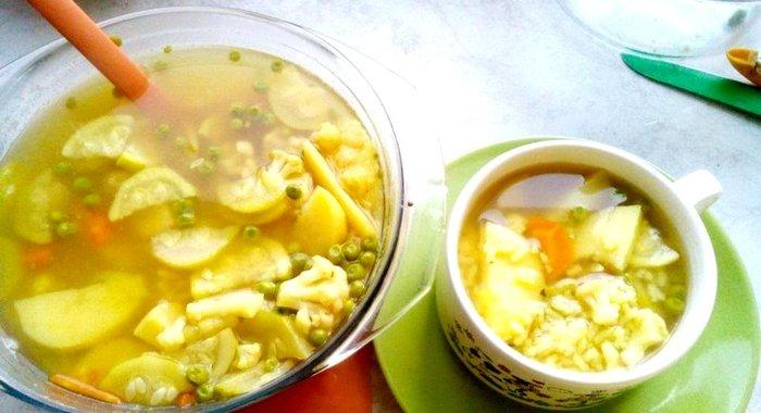 Овощной суп рецепт пошагово с фото