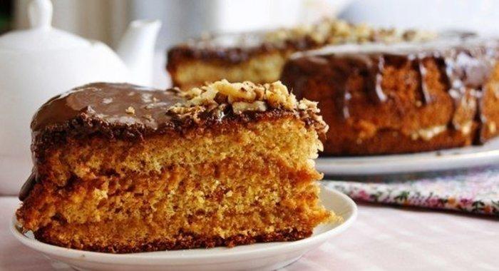 Бисквитный медовик торт рецепт с фото пошагово