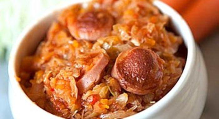Рецепт вкусной солянки из капусты