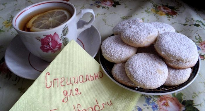 молочное печенье рецепт с фото