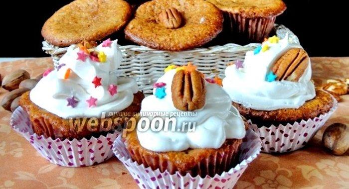 Рецепт вкусных кексов с орехами