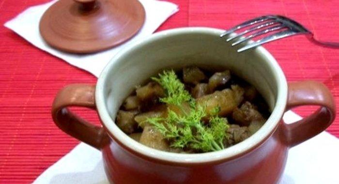 Жаркое в горшочках рецепт пошагово с фото