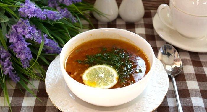 Сборная солянка классический пошаговый рецепт с